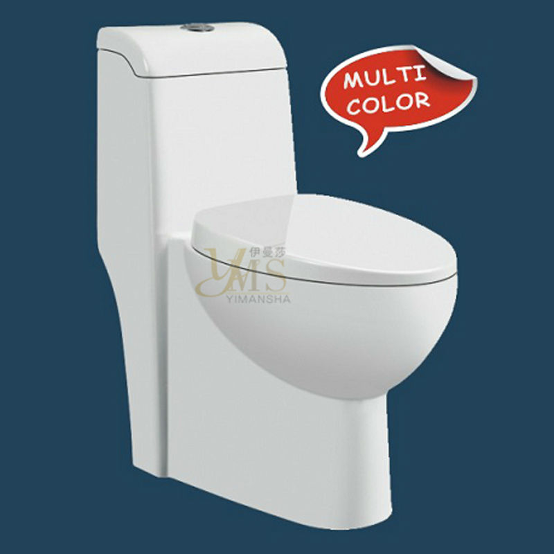 siphonic s-trap rear outlet toilet