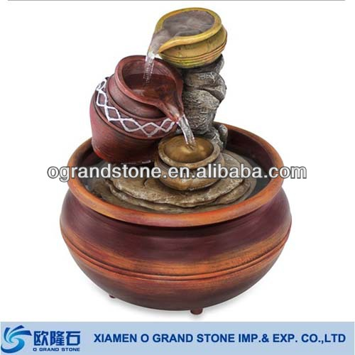 stone small tabletop decorative indoor water fountains
