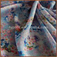 "Factory Direct Digital Printed Polyester Satin Chiffon Drapery Fabric 55""/57"""