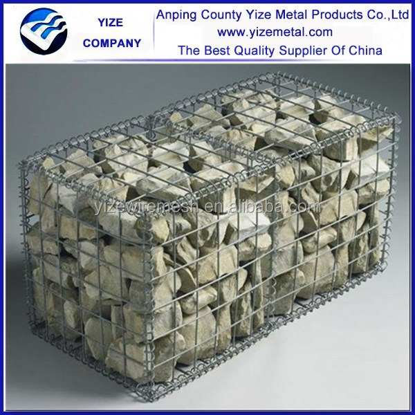 alibaba china factory supply corrosion resistance firm gabion wire mesh box control water and soil erosion