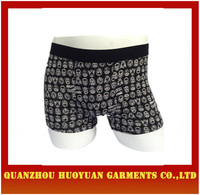 Men's cotton Boxers men briefs open front man thermal underwear