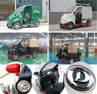 Environmental protection 2 Seats Small Electric Cars For Sale