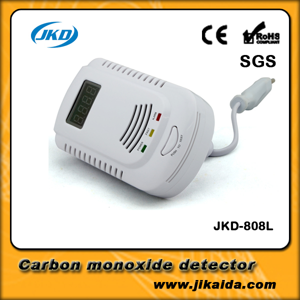 AC 110-220V Powered Natural LPG Gas Detector with Different Standard Plug