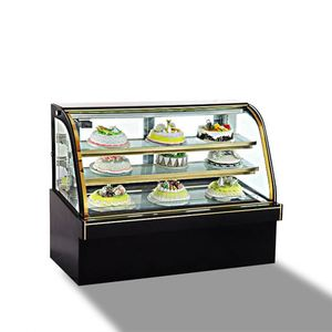 Top Counter Cake fridge/Table Top glass display chiller/Marble Base Cake Display Cooler