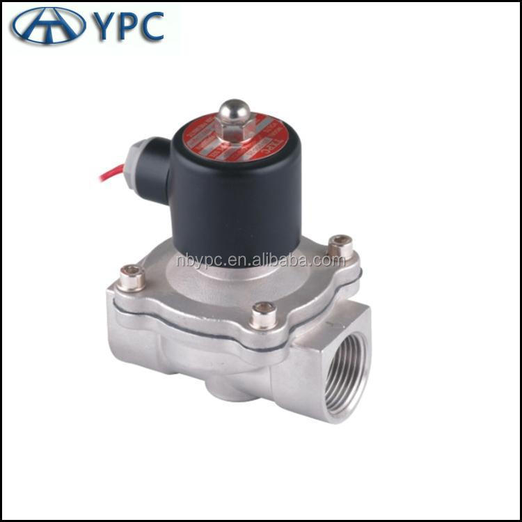 2 way 2 position 2S SeriesStainless steel solenoid control valve for Water, Oil,<strong>Gas</strong>