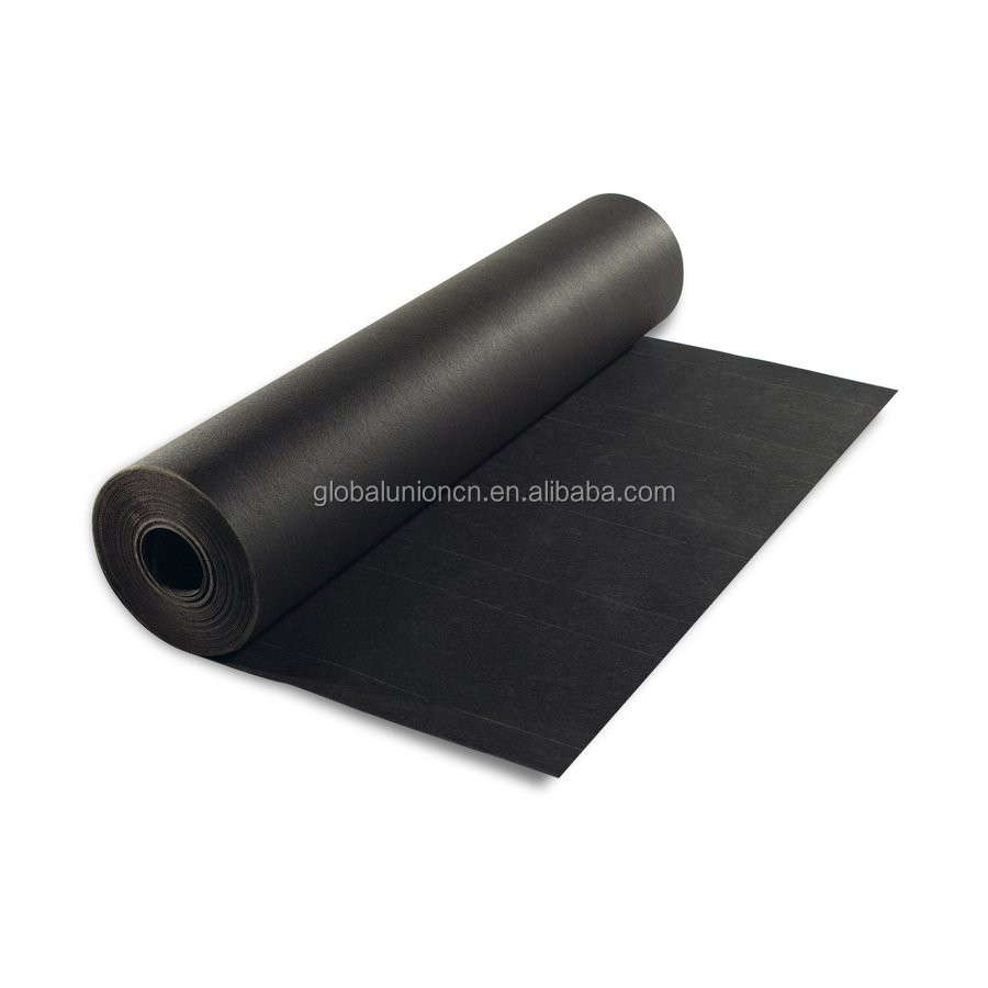high water resistance black building paper and roofing felt