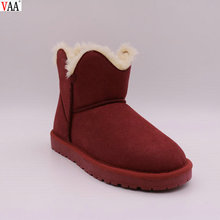 Winter Genuine Leather Wholesale Women Snow Boots.Ladies Boots In Stock JLX-CF-273