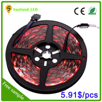 2015 hot selling shen zhen factory price 5050 flexible led strip light free sample