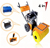 QCS-165 3 in 1 6.5hp snow Sweeper Cleaning Tools Powerful Tools