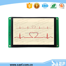 SAEF hot sale 4.3 inch lcd display with MiniUSB2.0(12Mbps) & SD card in picture downloading