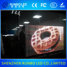 led transparent circular video screen display pakistan xx