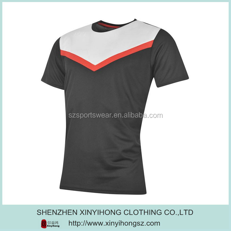 Best-selling color combination 100% polyester sport shirts wholesale for men
