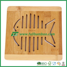 brand new fish bamboo mat for hot pan/plates ideal for kithcen