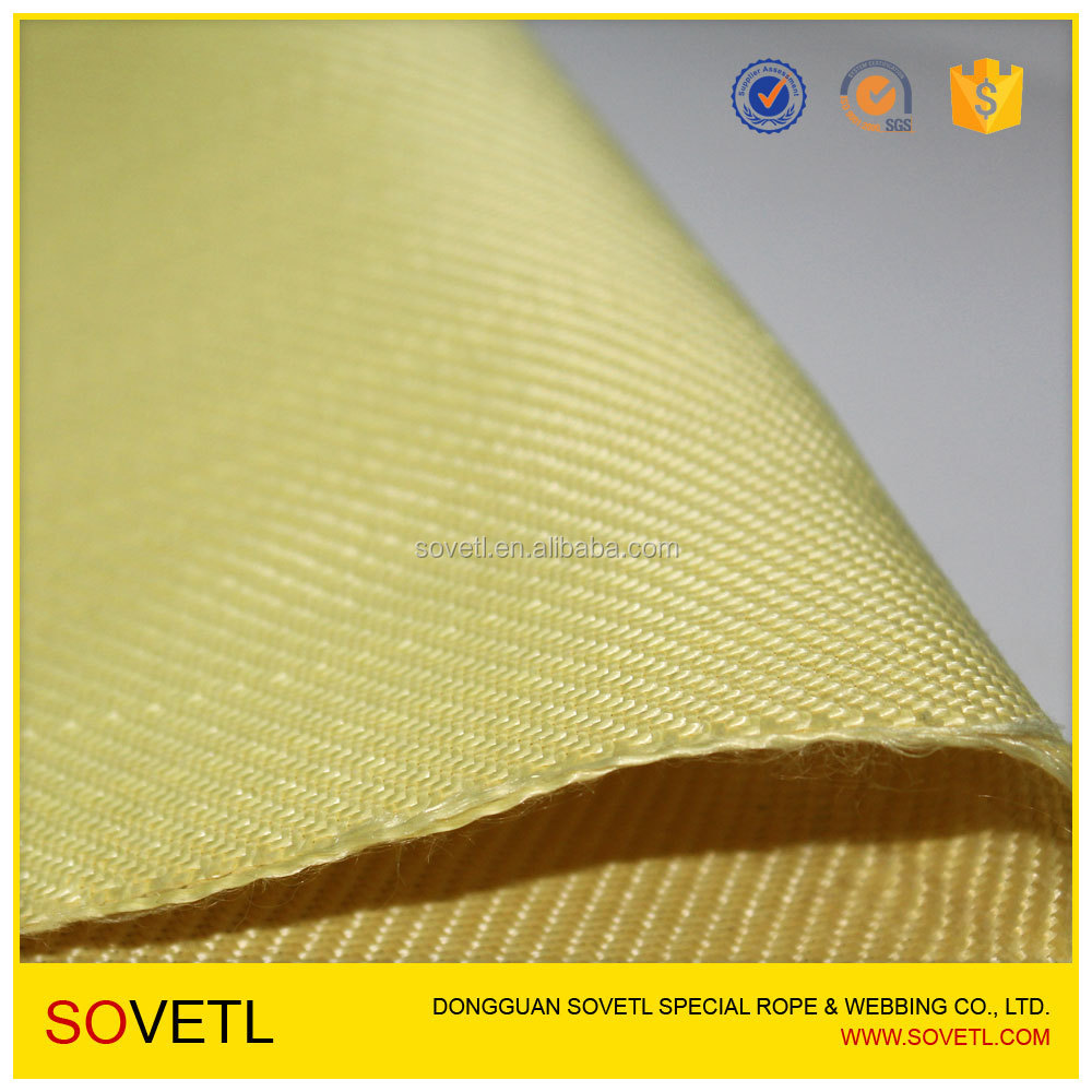 KEVLAR para-aramid fiber Twill Weave Fabric for sale