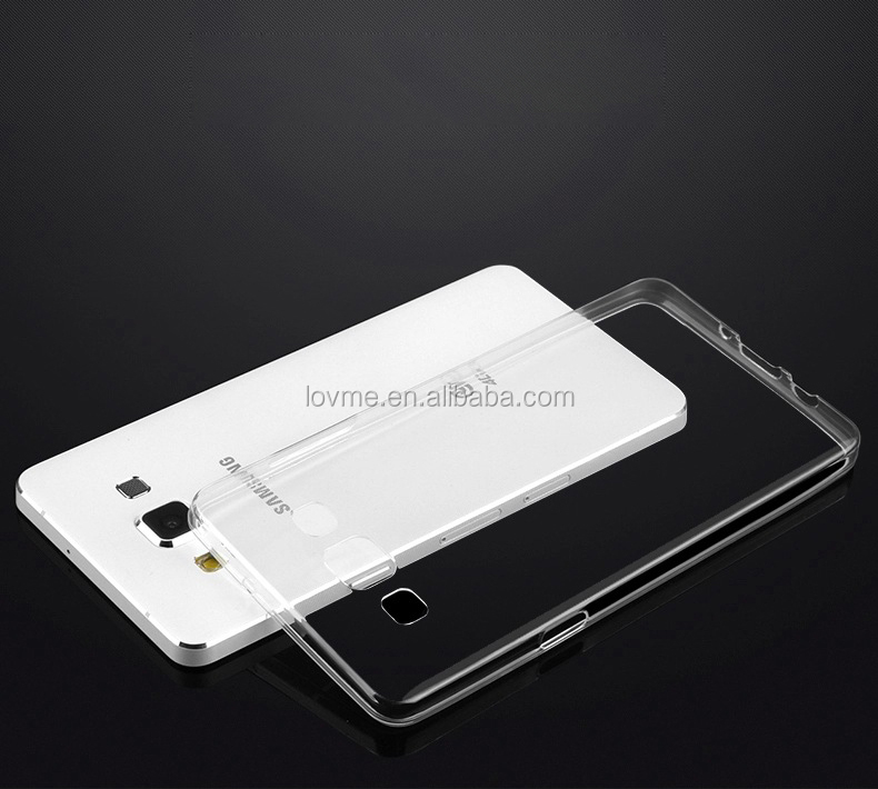 Transparent Clear Ultra Thin Gel Case For Samsung Galaxy On7