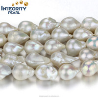 15x20mm AA baroque pearl baroque freshwater pearl strand