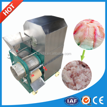 Automatic shrimp peeling machine / fish meat bone removal machine