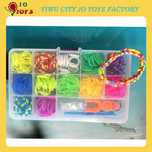DIY Plastic Box Loom Bands, Storage Loom kits Box ,Crazy Rubber Bands Bracelet