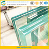 Thick plate tempered PVB films laminated sheets glass