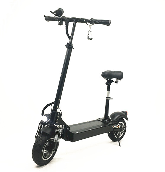Big power scooter 52v 2400W dual motor <strong>electric</strong> off road scooter