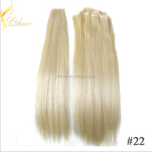 Top Quality Hair Extension Hand Tied Skin Weft No Shedding Tape Hair Silky Straight European Remy Human Hair
