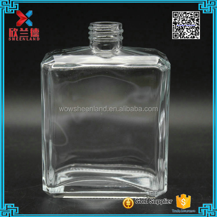 Hot selling 390ml square shape essential oil diffuser bottle wholesale
