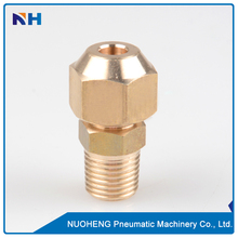 Custom brass fittings male thread hose adapter