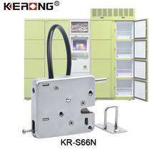 Small Stainless Steel Strong Keyless Cabinet Lock For Parcel Locker