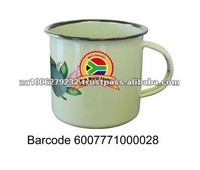 8CM High Quality Enamel Decorative Mug