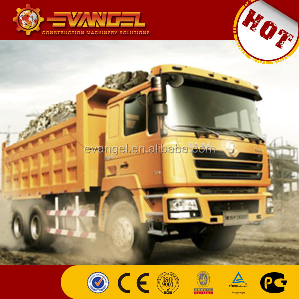 chinese famous brand Shacman 6X4 dump truck for sale