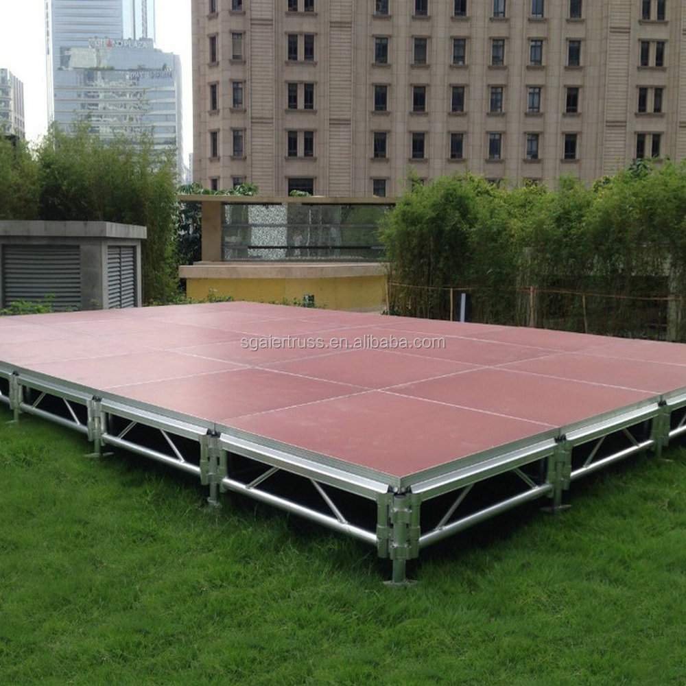 Multi Shape Stage Setup, Event Stages for Sale,Used stage for sale