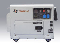 PUG6000SE - Single Phase 6KVA Diesel Generator