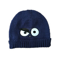 Wholesale Owl Baby Crochet Hat Cheap Price Cartoon Animal Hand Made Winter Warm Kids Knitted Hat