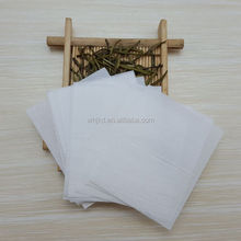 Wholesale customized Sizes White Empty Heat Seal Tea Bag Filter Paper