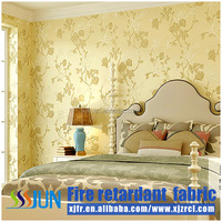 European Style Home Textile Flame Retardant wall cloth for Living room and Interior Decoration