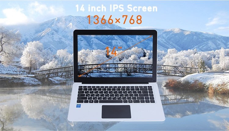 best chinese K-N14 ultra thin 14.1 inch notebook computers win 10 a pc laptop