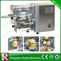 Industrial Apple peeling/pitting/cutting machine manufactured
