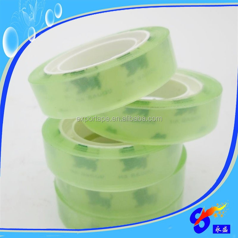 Clear plastic opp stationery sealing tape roll for office