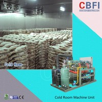 Large Cold Room for Meat Overseas Construction