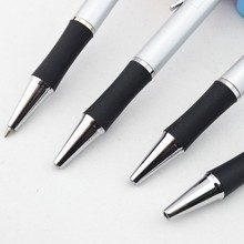Promotional Slim Metal Logo Ball Pen With Grip