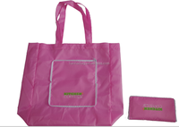 Good price Foldable Polyster bags, custom tote bag blank