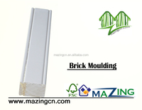 wooden finger joint brick moulding for sale