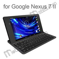 New Products Aluminum Case wireless bluetooth keyboard for Google Nexus 7 II