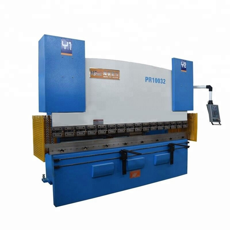 hydraulic simple operated press brake machine to bend and cut metal sheets
