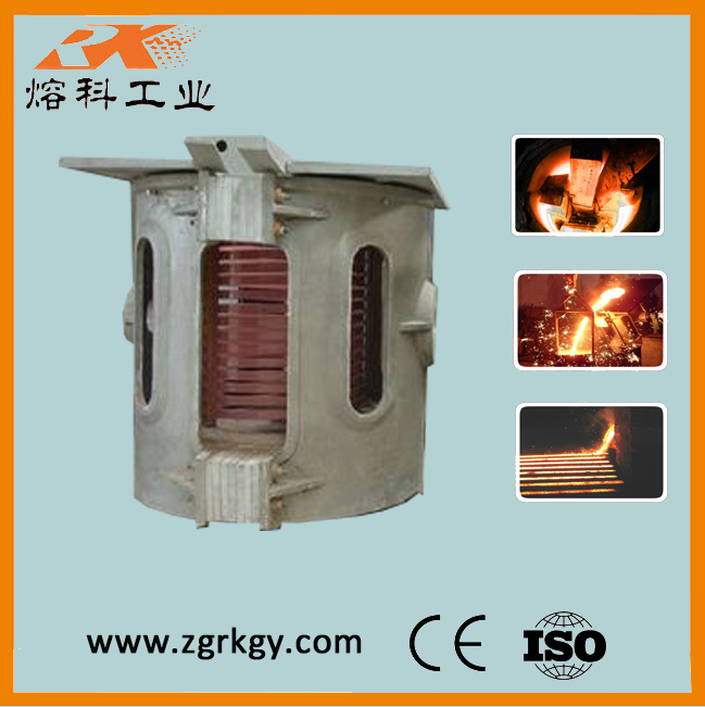 Electric heat treatment furnace for metal smelting
