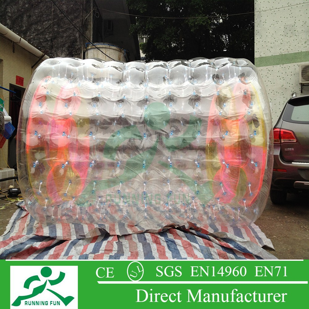 inflatable water absorbing bubble roller for sale WR18