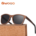 Light and thin natural wood sunglasses with acetate tips (WL58)
