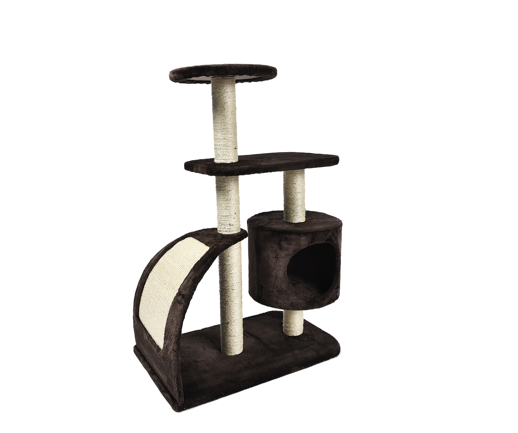 Cheap OEM Cat Tree Sturdy Cat Tree Scratcher Toy With Cat House