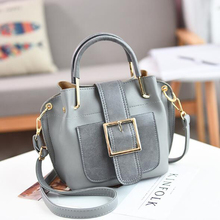Factory direct sale the new trend female Chinese leather handbag in 2018 a one-shouldered hand slanted lady's bag