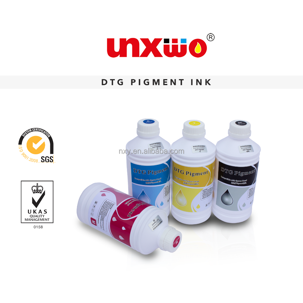 DTG Textile Ink for Epson 4880, R1800, 1900, 7880,9880 Digital Textile Printing